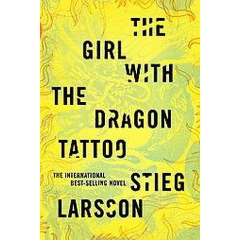 The Girl With the Dragon Tattoo (Hardcover) by Stieg Larsson - image 1 of 1