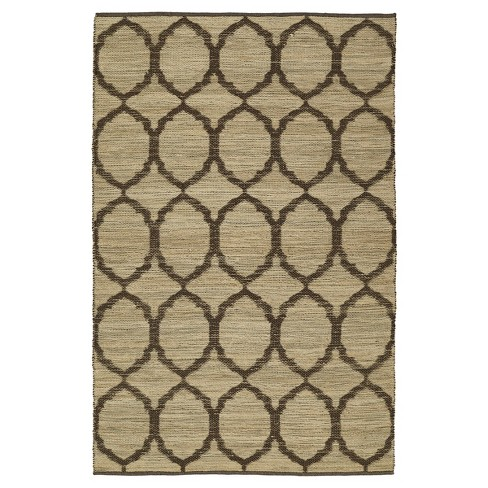 5 X7 6 Brown Ogee Loomed Area Rug Addison Rugs