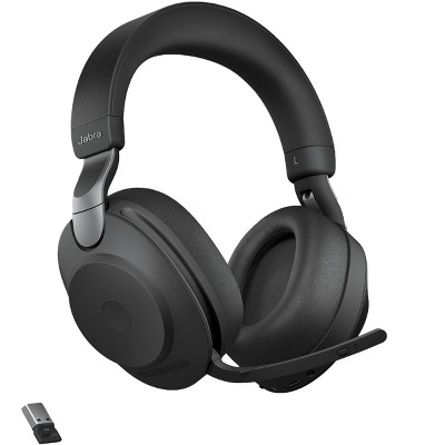 Jabra Evolve2 85 - USB-A MS Teams Stereo - Black Wireless Headset / Music Headphones