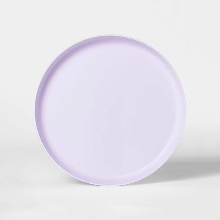 "9.6"" Plastic Kids Dinner Plate Lilac - Pillowfort™ - image 1 of 1"