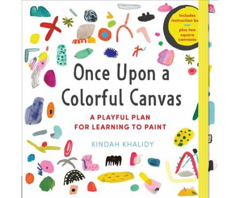 Once upon a Colorful Canvas : A Playful Plan for Learning to Paint: Includes Instruction Book Plus Two - image 1 of 1