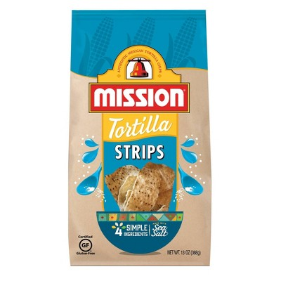 Tortilla & Corn Chips: Mission Tortilla Strips