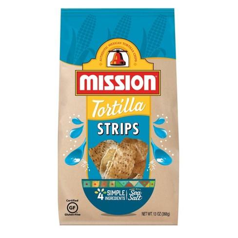 Mission Strips Tortilla Chips - 13oz - image 1 of 3