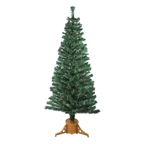 Northlight 6' Prelit Artificial Christmas Tree Color Changing Fiber Optic - image 1 of 3