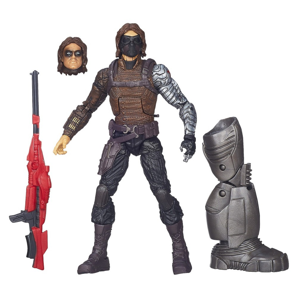 Captain America Marvel Legends Winter Soldier Figure