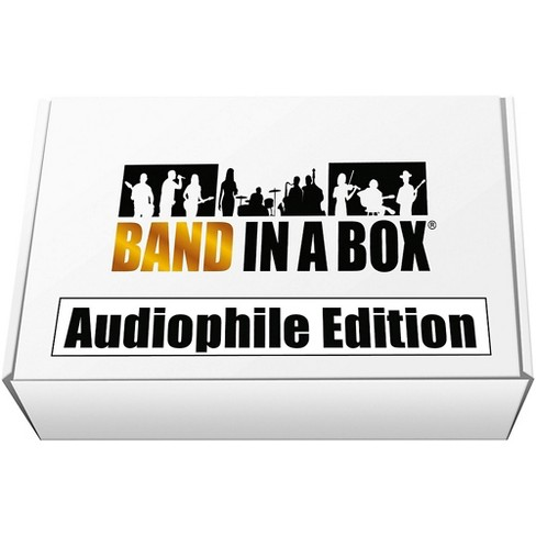 PG Music Band-in-a-Box 2018 Audiophile Edition USB Hard Drive (Windows) - image 1 of 1