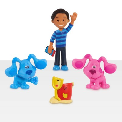 Blue's Clues & You! Collectible Figure Set - 4pc