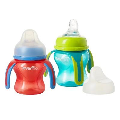 Evenflo® Soft Flo Trainer Cup- 2pk