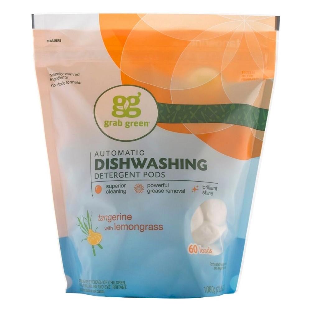 Grab Green Tangerine With Lemongrass Automatic Dishwashin...
