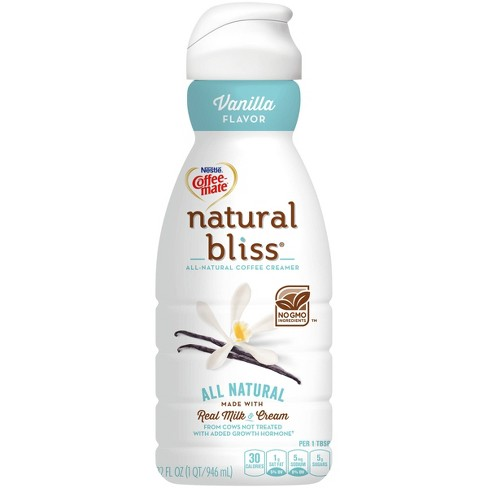 Coffee Mate Natural Bliss Vanilla Coffee Creamer - 1qt - image 1 of 4