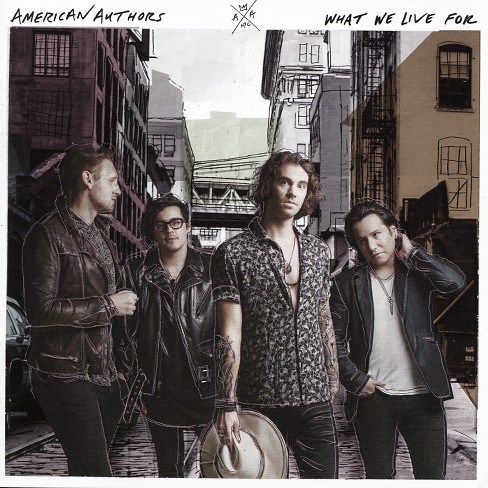 American authors - What we live for (CD) - image 1 of 1