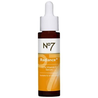 No7 Radiance+ 15% Vitamin C Serum - 1 fl oz
