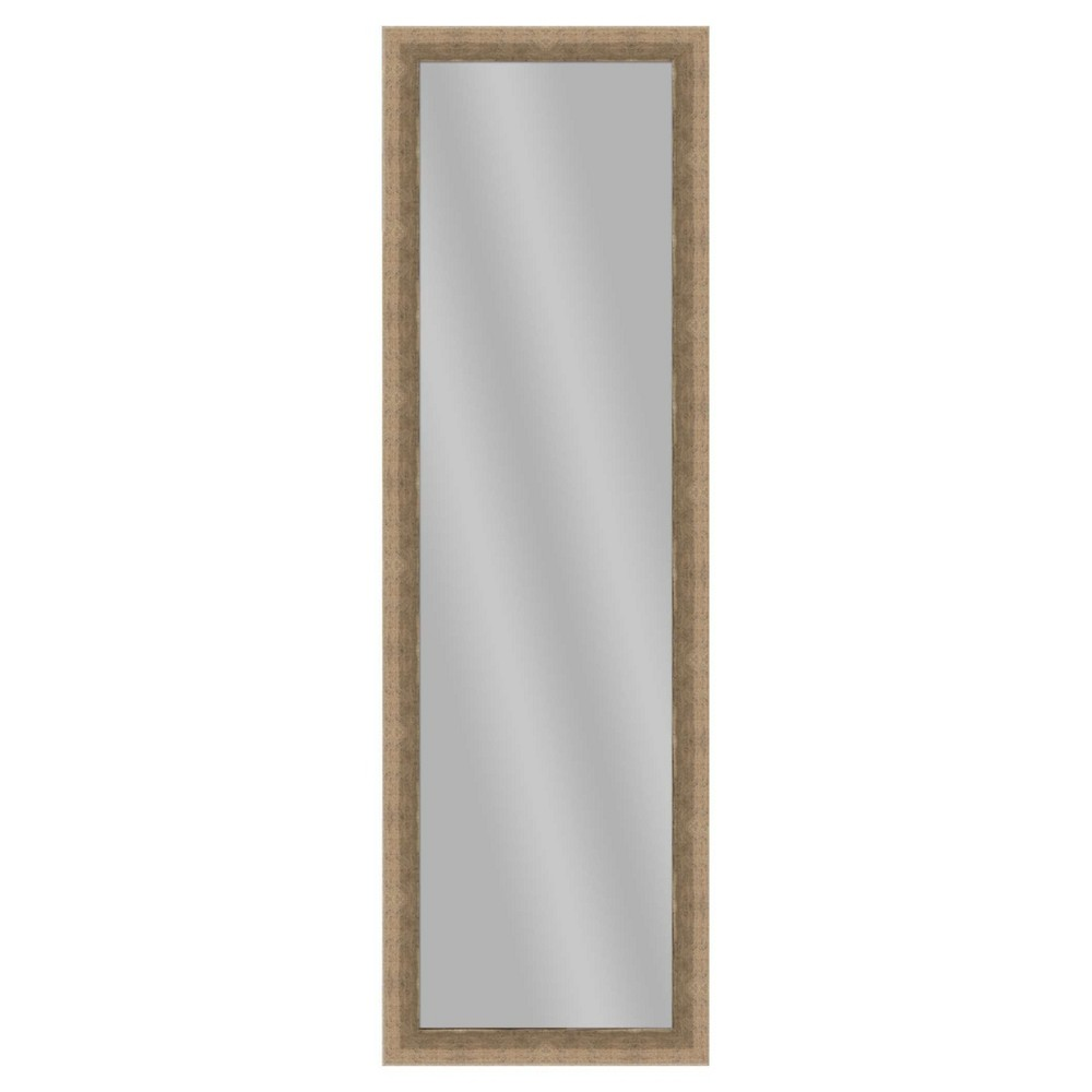 Floor Mirror Ptm Images Dark Silver, Multi-Colored