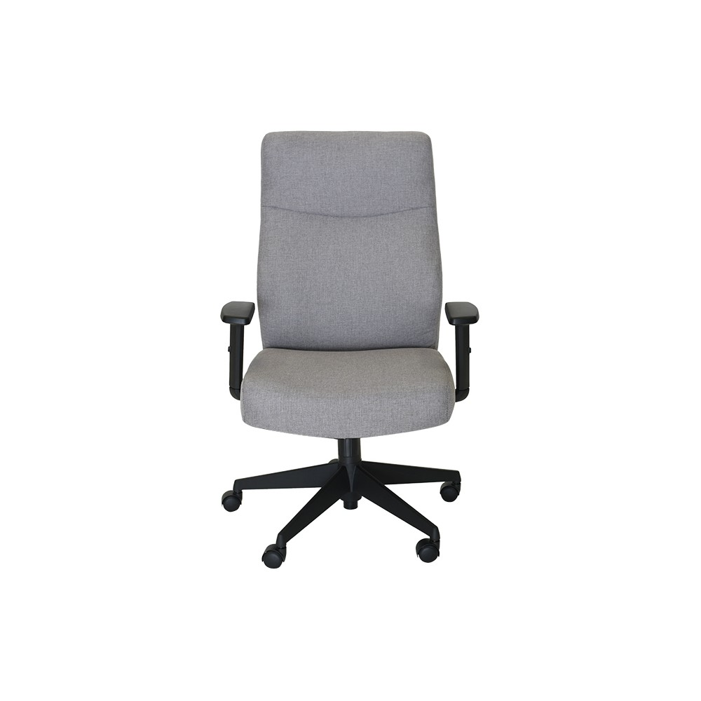 Image of Style Amy Office Chair Light Gray - Serta