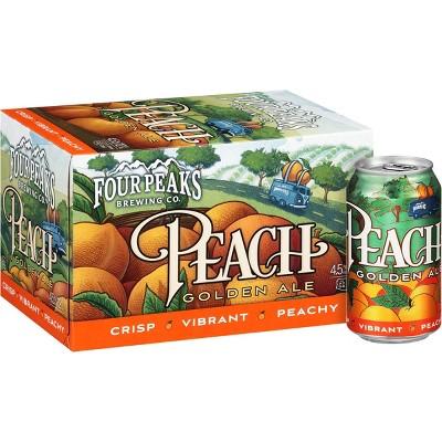 Four Peaks Peach Golden Ale Beer - 6pk/12 fl oz Cans