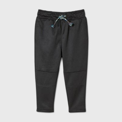 Toddler Boys' Tapered Pull-On Pants - Cat & Jack™ Black