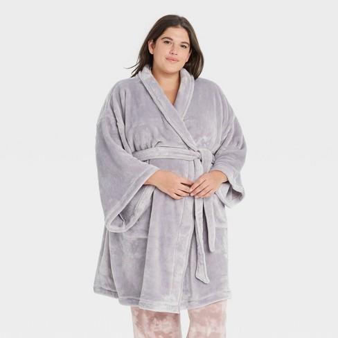 Women's Plus Size Cozy Robe - Stars Above™ - image 1 of 2