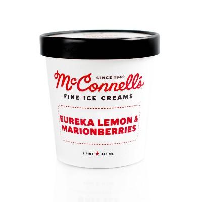 McConnell's Eureka Lemon & Marionberries Ice Cream - 16oz