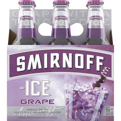 Smirnoff Ice Grape - 6pk/11.2 fl oz Bottles