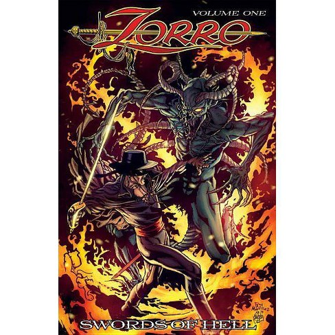 Zorro Swords of Hell - by  David Avallone (Paperback) - image 1 of 1