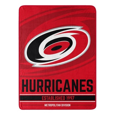 NHL Carolina Hurricanes Micro Throw Blanket