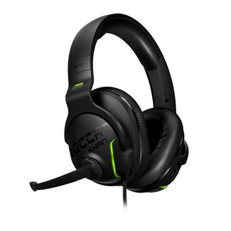 ROCCAT Khan Aimo Wired PC Gaming Headset - Black