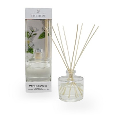 4.5oz Oil Diffuser Jasmine Bouquet - Home Scents By Chesapeake Bay Candle