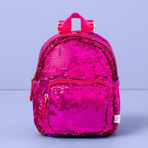 Girls' Flip Sequin Mini Backpack - More Than Magic™ - image 1 of 3