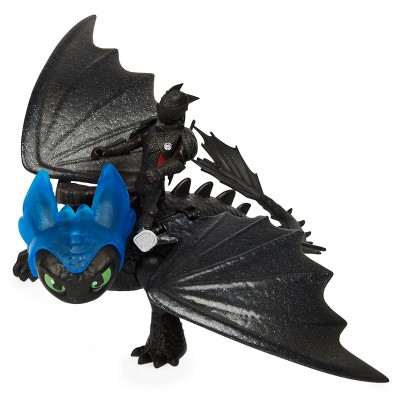 Dragon & Viking: Toothless and Rider Solid Pack