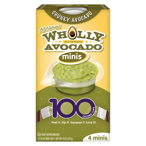 Wholly Avocado Minis Cups 4ct - 8oz - image 1 of 5