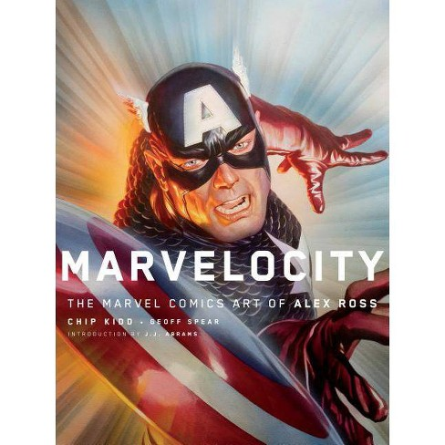 Marvelocity - (Pantheon Graphic Novels) by  Alex Ross & Chip Kidd (Hardcover) - image 1 of 1