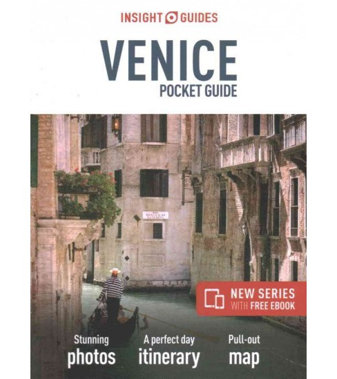 Insight Guides Venice Pocket Guide (Paperback) - image 1 of 1