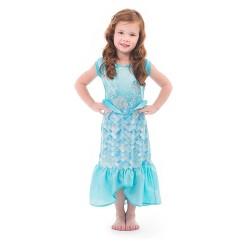 Little Adventures Girls' Mermaid Dress - M, Size: Medium