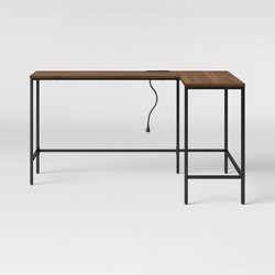 Loring Wood L Shaped Writing Desk - Project 62™