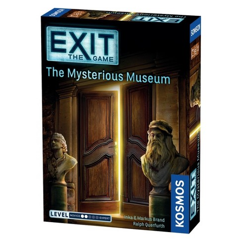 EXIT: The Mysterious Museum Card Game - image 1 of 3