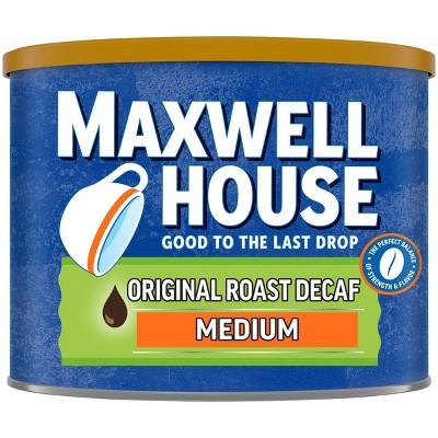 Maxwell House Original Medium Roast Ground Coffee - Decaf - 22oz