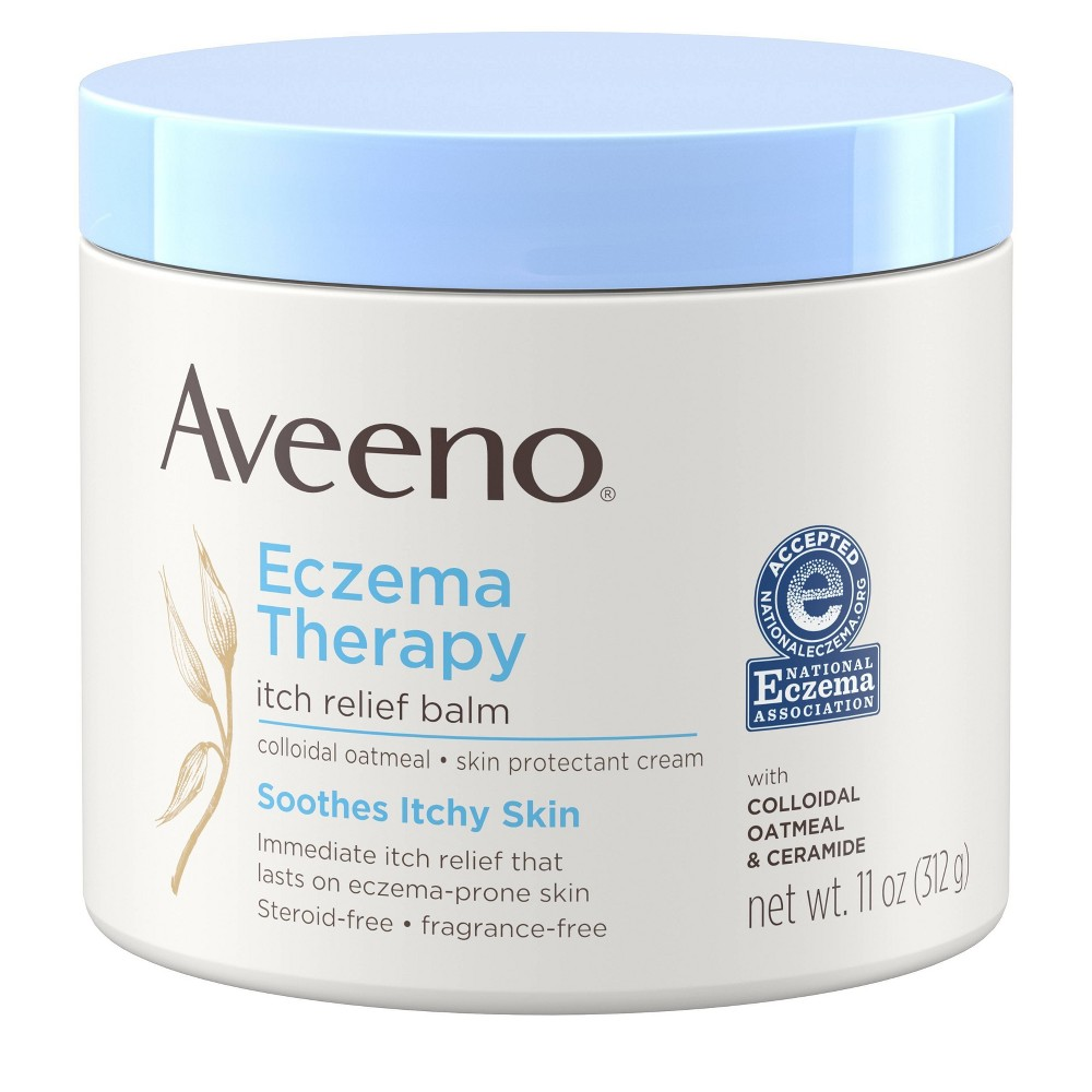 Image of Aveeno Eczema Therapy Itch Relief Balm with Colloidal Oatmeal- 11 oz