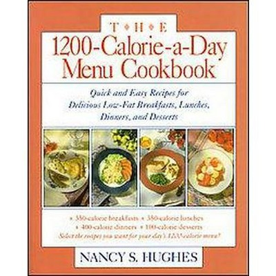 1200-Calorie-A-Day Menu Cookbook : Quick and Easy Recipes for Delicious Low-Fat Breakfasts, Lunches,