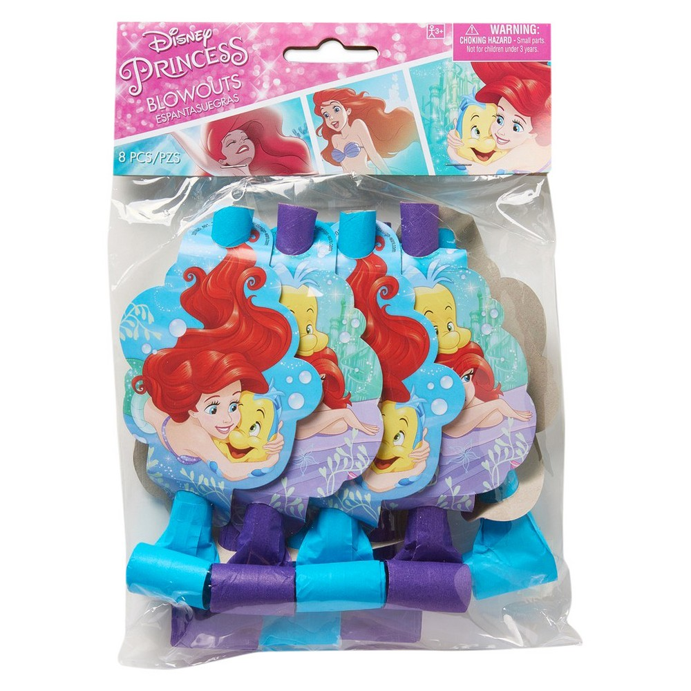 The Little Mermaid Ariel Blowout Party Favor, Multi-Colored