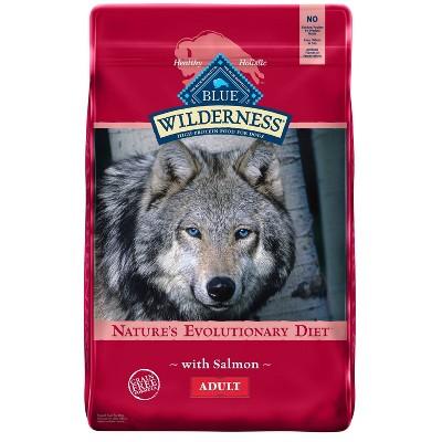 Blue Buffalo Wilderness Grain Free with Salmon Adult Dry Dog Food