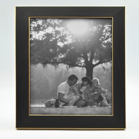 Black and Brass Foundation Frame - Threshold™ - image 1 of 4