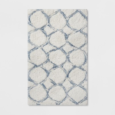 Circle Bath Rug Blue - Threshold™