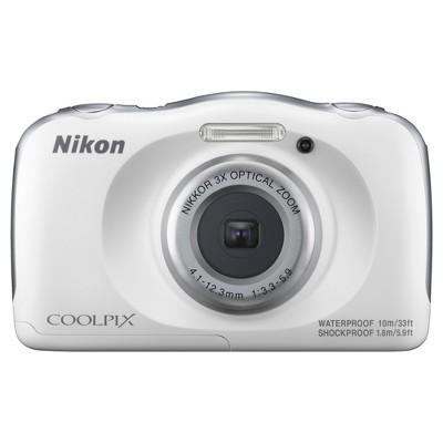 Nikon® COOLPIX W100 Action Camera - White (26515)