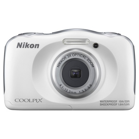 Nikon COOLPIX W100 Action Camera - White (26515) - image 1 of 4