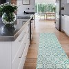 Floral Tiles 2pc Woven Rug set (cover & pad) - image 3 of 4