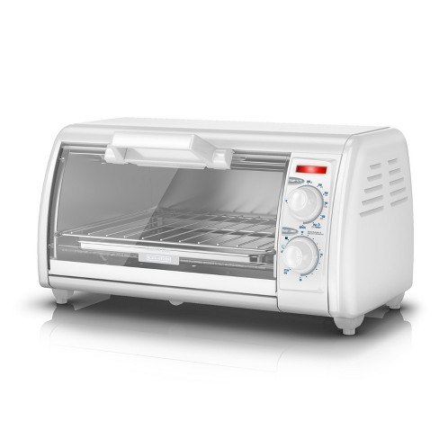 BLACK+DECKER 4-Slice Toaster Oven - Stainless Steel TRO420 - image 1 of 5