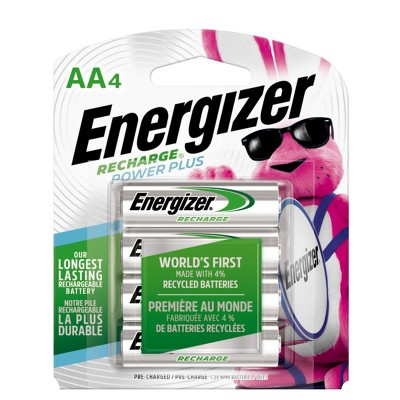 Batteries: Energizer Recharge