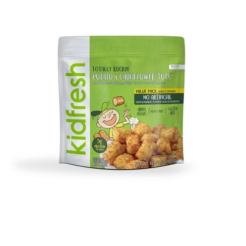 Kidfresh Totally Rockin' Tots Frozen Russet Potato & Cauliflower - 10oz - image 1 of 1