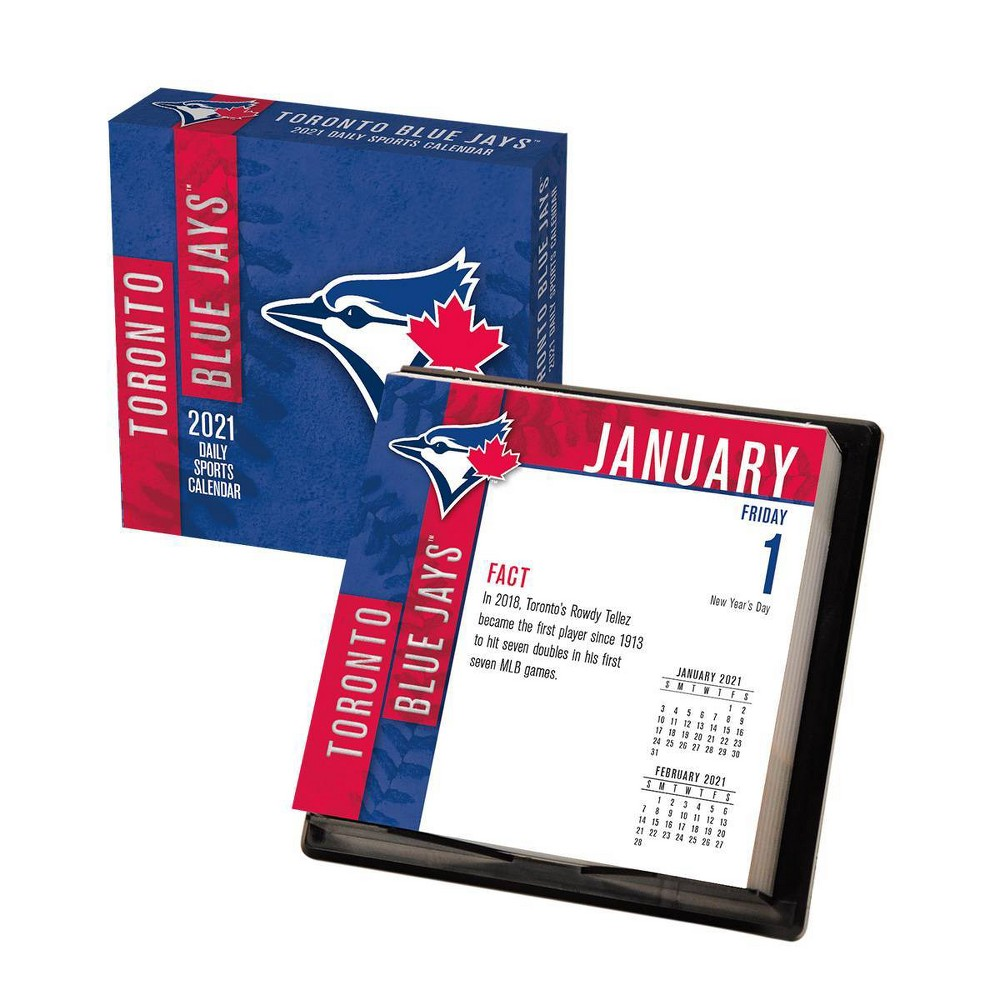 Mlb Toronto Blue Jays 5 25 34 X5 25 34 Daily Boxed Calendar