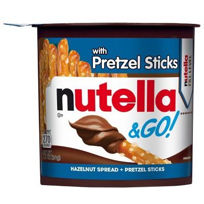 Nutella & Go! Hazelnut Spread & Pretzel Sticks - 1.9oz